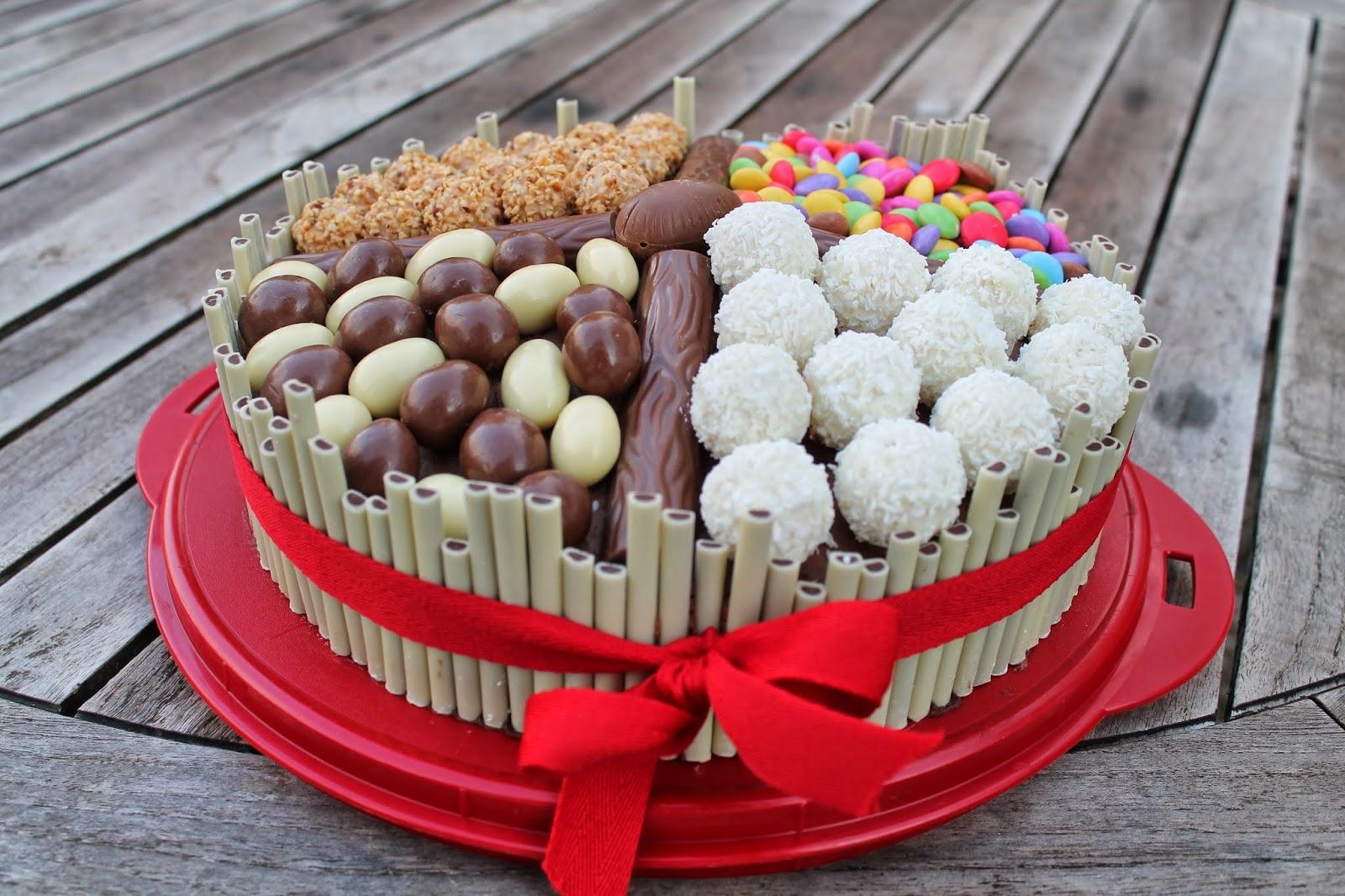 Die Ehrliche Schokoladentorte Mit Gaanzviel Sussigkeiten