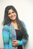 Megha Akash in a beautiful Anarkali dress with Long Jacket at LIE success meet ~  Exclusive Celebrities Galleries 007.JPG