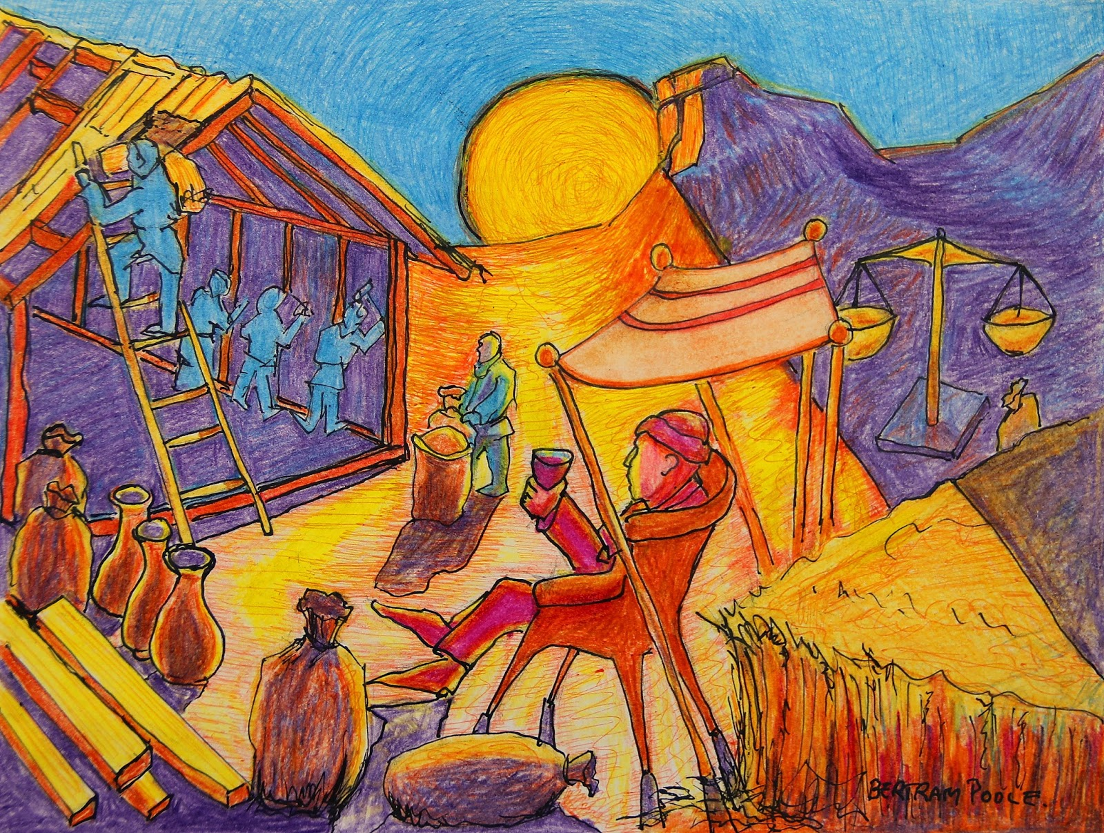 Christian Art Now: Parables of Jesus The Parable of the Rich Fool ...