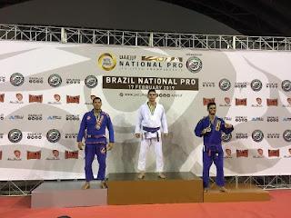 Registrense traz medalhas do Brazil National Pro UAEJJF de Jiu Jitsu em Curitiba