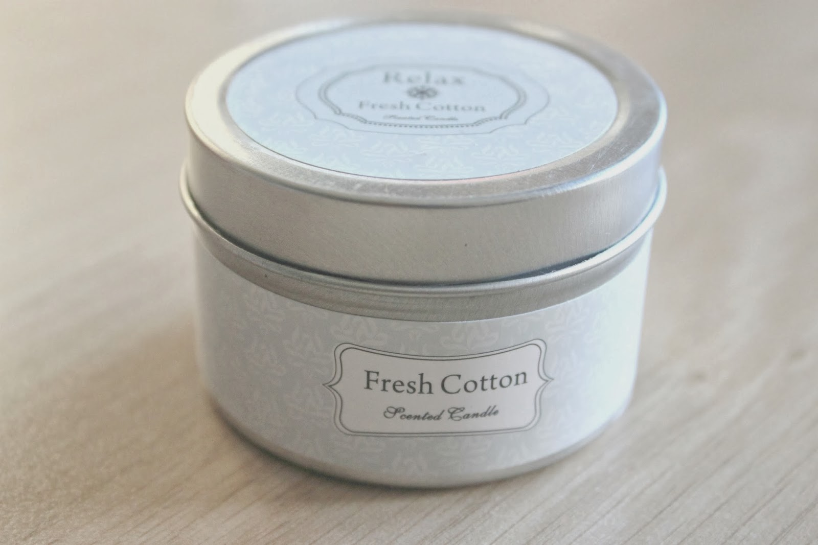 fresh cotton candles