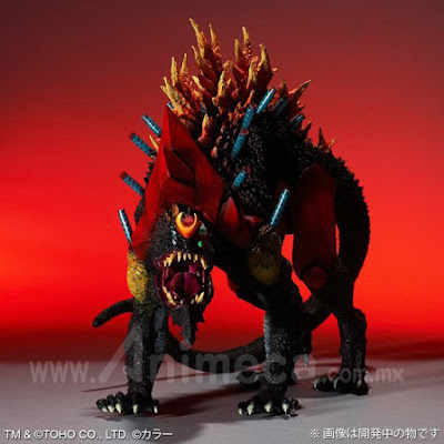"""Figura EVA-02 Beast """"G"""" Mode Kakusei Keitai Edición Limitada Toho 30cm Series Godzilla vs Evangelion"""