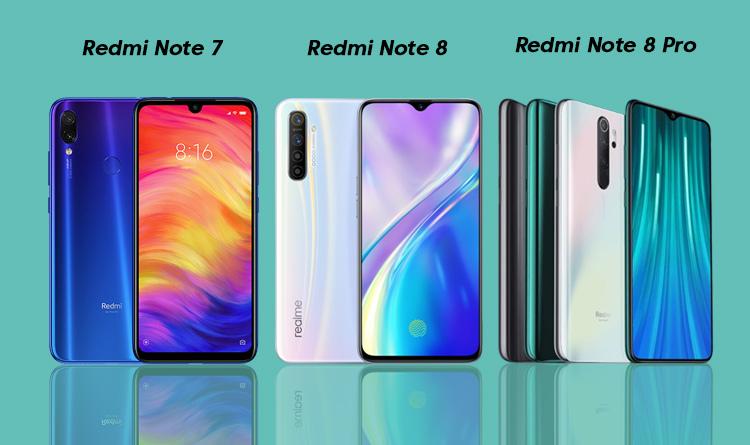 Perbedaan redmi note 7 dan 8 pro