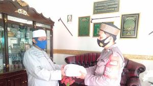 Aiptu Iwan Iriawan, Kanit Binmas Cikancung Polresta Bandung Berbagi Tali Kasih dengan Ketua MUI