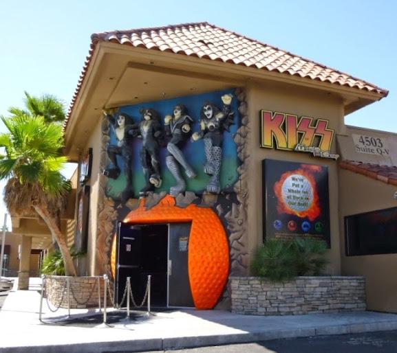 KISS by Monster Mini Golf in Las Vegas