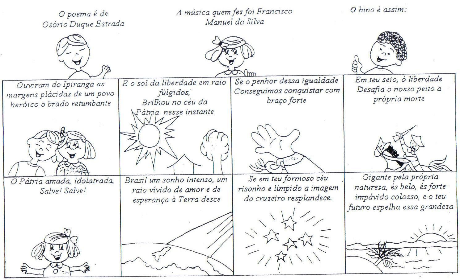 hino nacional ilustrado 4