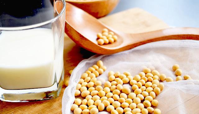 soybean milk is nutritious in calcium