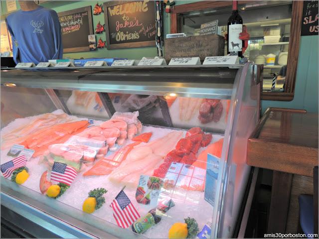 Pescadería de Jake's Seafood Restaurant, Hull