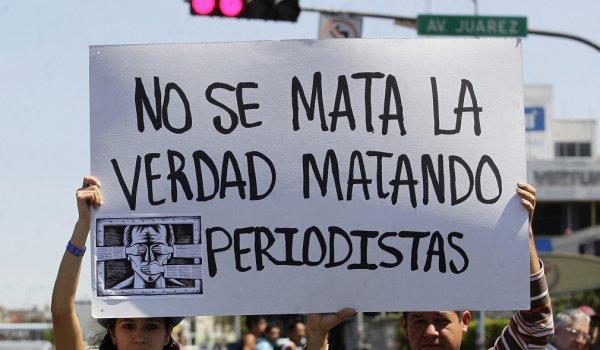 México, el país con más periodistas asesinados en 2015