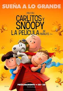 Cartel: Carlitos y Snoopy: La película de Peanuts (2015)