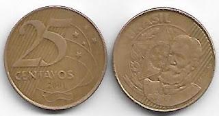 25 centavos, 2001