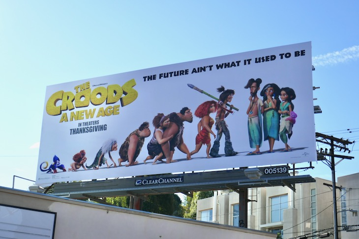 Croods A New Age billboard