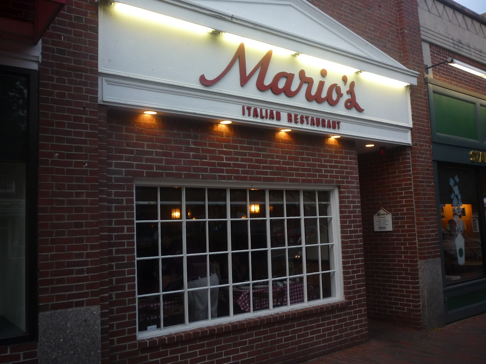Baked Ziti Reigns At Mario S Lexington Mass