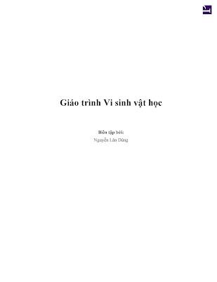 [EBOOK] GIÁO TRÌNH VI SINH VẬT HỌC, NGUYỄN LÂN DŨNG, THƯ VIỆN HỌC LIỆU MỞ VIỆT NAM