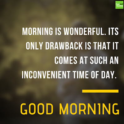 Morning Business Quotes