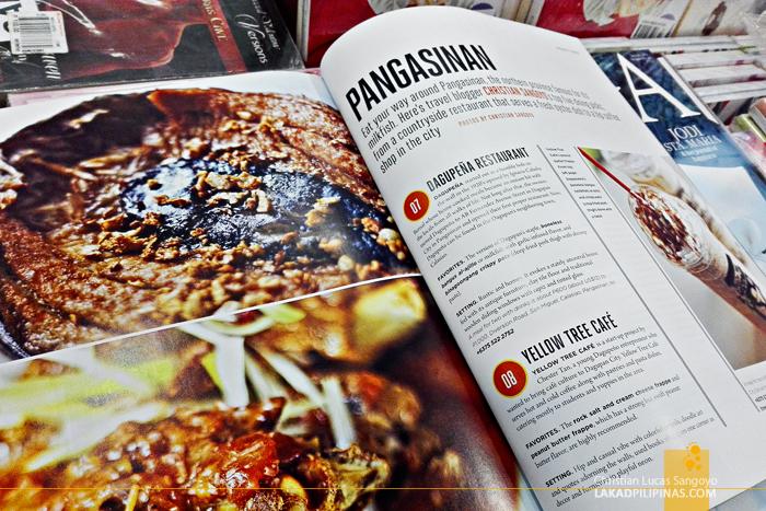 Inflight Traveller Pangasinan Eats