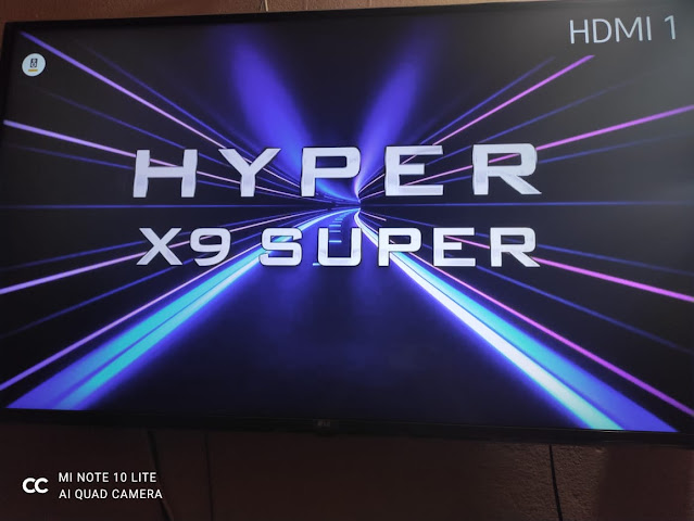 مواصفات ومميزات وسعر رسيفر هايبر اكس 9 HYPER X9 SUPER
