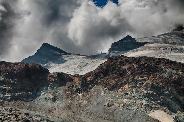 Matterhorn geology Zermatt Alps Switzerland Glacier Paradise Italy ski copyright RocDocTravel.com