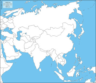 Middle East and central Asia.
