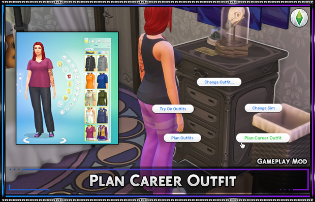 Plan Career Outfit Mod