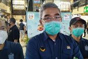 Muhammad Farhan Tinjau Kondisi Pasar Baru Bandung Saat Pandemi Covid-19