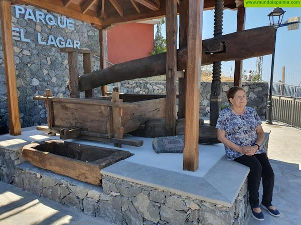 Tijarafe pone en uso el Parque El Lagar, que rinde homenaje a su tradición vinícola