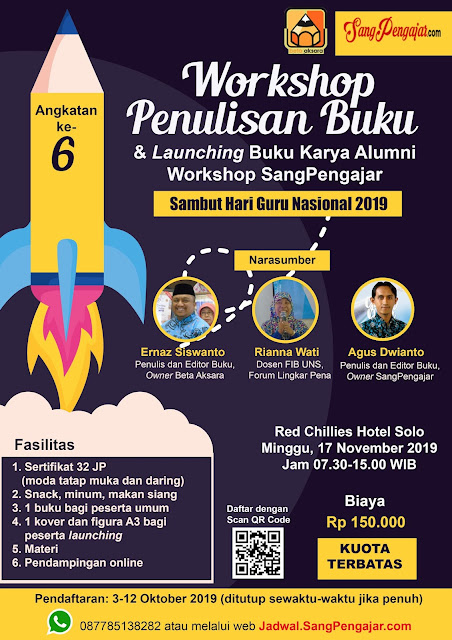 Workshop Penulisan Buku Angkatan ke-6