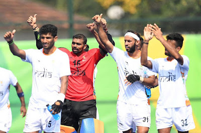India Beat Argentena 2-1 at Rio Olympics