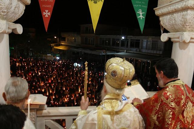 Θεσπρωτία: Πλημμύρα πιστών στους ναούς της Θεσπρωτίας το βράδυ της Ανάστασης