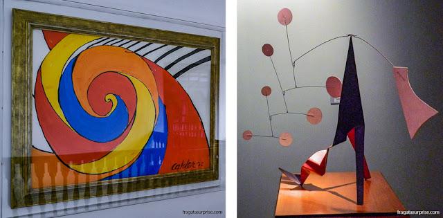 Obras de Alexander Calder no Museu Botero, Bogotá