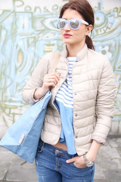 poznan streetstyle, novamoda stylizacje, poznan stylistka, wiosenny styl, pastele, uashmama torby, styl na wiosne, streetstyle