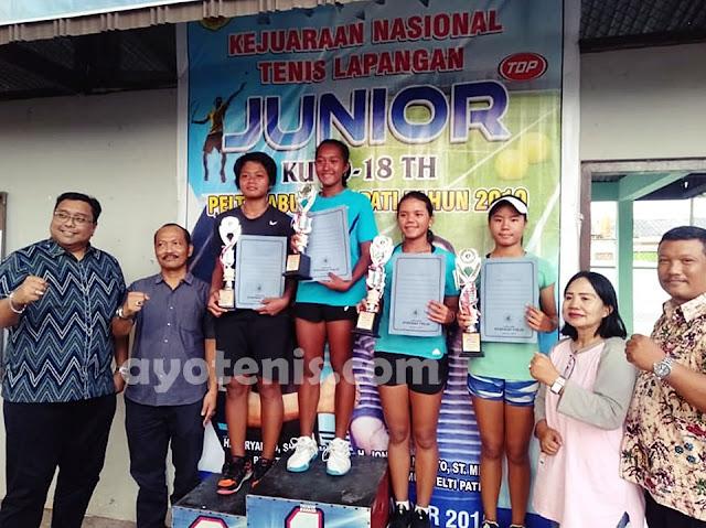 PELTI PATI OPEN 2019: Nadya Dhaneswara Kampiun KU 18