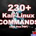 230+ Kali Linux Commands List   Basic to Advance