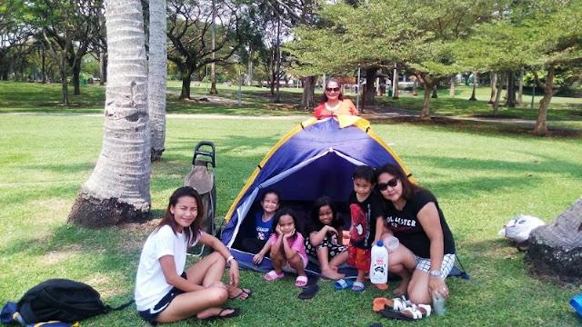 Pasir Ris Park Singapore camping in 2016