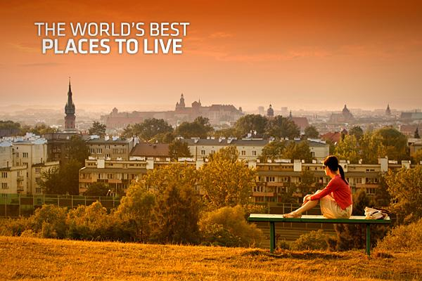 Top 5 Ranked Place to live in the world