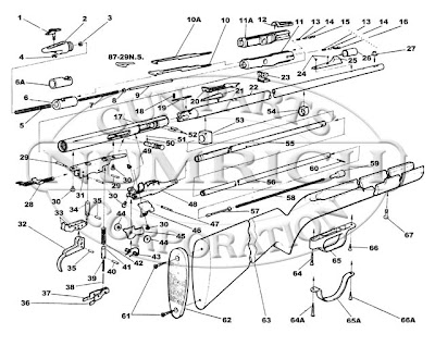 The Old Salt: Springfield Model 187R 22 Caliber Rifle