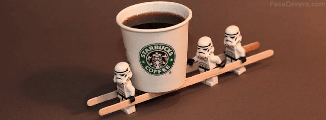 facebook timeline cover starbucks and the lego stormtroopers