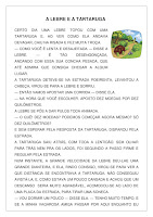 Texto A Lebre e a tartaruga (Fábula) atividade ensino fundamental
