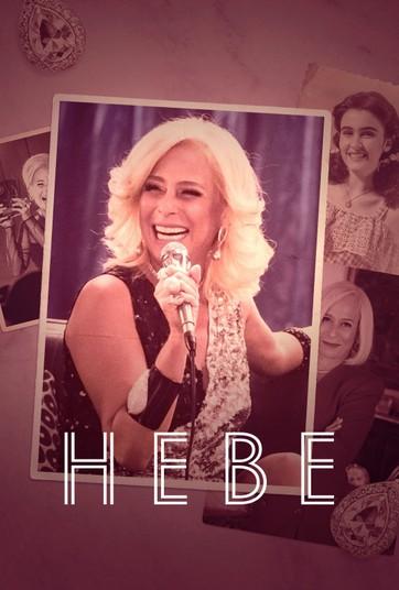 Poster da minissérie Hebe do Globoplay