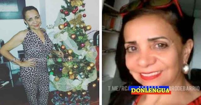 Falleció la mujer que había quedado herida por una bala fría en La Vega