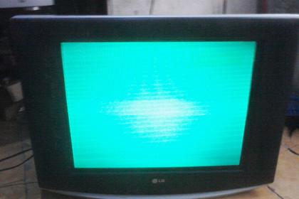 Penyebab Warna tv dominan Hijau Dan Cara Memperbaikinya