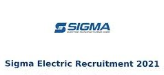 Sigma Electric Mfg Corporation Pvt. Ltd Recruitment Diploma Experience Holders For Senior Engineer Operations (Production)