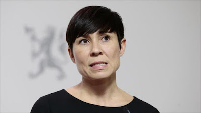 La ministra noruega de Defensa, Ine Eriksen Soreide.