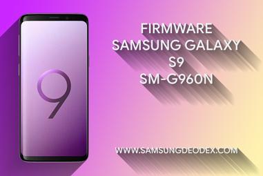 FIRMWARE SAMSUNG G960N