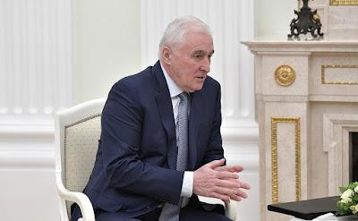 President of South Ossetia Leonid Tibilov.