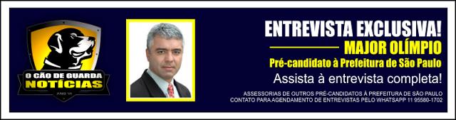 Entrevista Exclusiva com o Deputado Federal Major Olímpio, Pré-candidato à Prefeitura de São Paulo