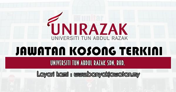 Jawatan Kosong 2019 di Universiti Tun Abdul Razak Sdn. Bhd.