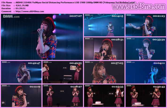 AKB48 210406 YuiMyao Social Distancing