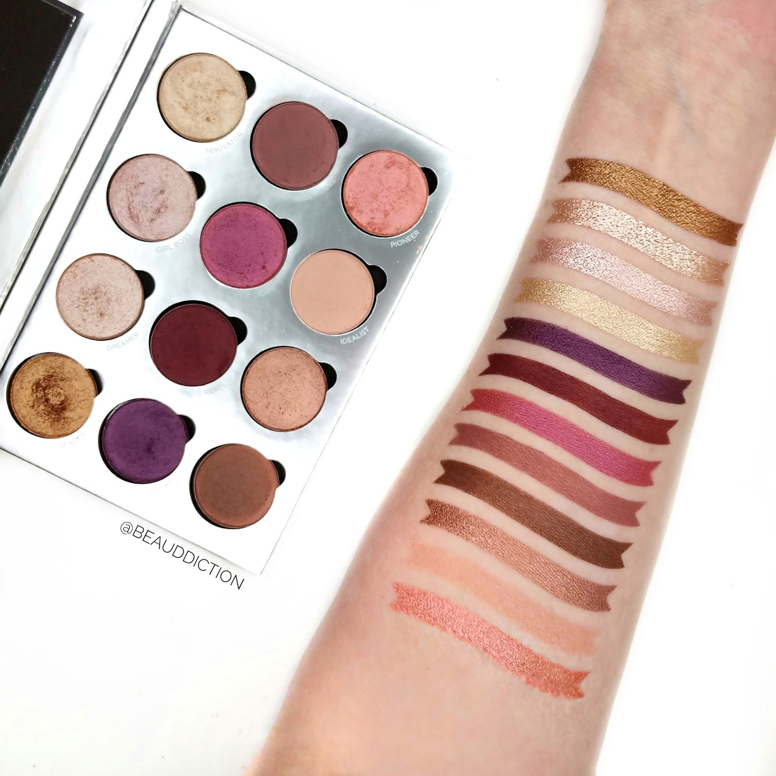pur visionary palette swatches