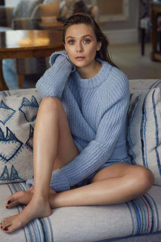 Elizabeth Olsen Sexy Photos: Hot Cleavage Pictures and HD Photoshoot Images